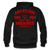 Muskegon Mohawks Dated Hoodie - black