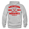 Muskegon Mohawks Dated Hoodie - heather gray