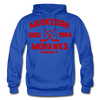 Muskegon Mohawks Dated Hoodie - royal blue