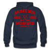 Muskegon Mohawks Dated Hoodie - navy