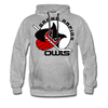 Grand Rapids Owls Hoodie (Premium) - heather gray