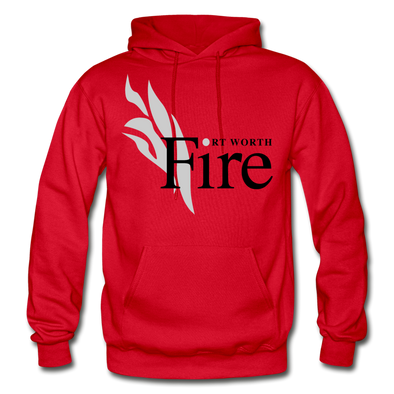Fort Worth Fire Red Hoodie - red