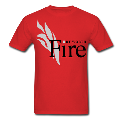 Fort Worth Fire Red T-Shirt - red