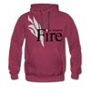 Fort Worth Fire Red Hoodie (Premium) - burgundy