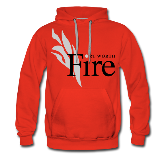 Fort Worth Fire Red Hoodie (Premium) - red