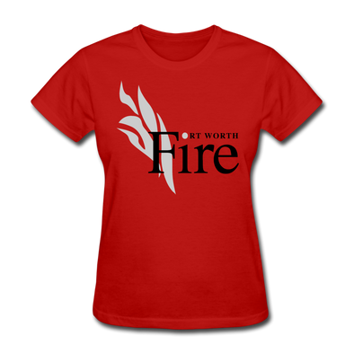Fort Worth Fire Red Women's T-Shirt - red