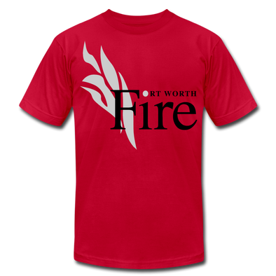 Fort Worth Fire Red T-Shirt (Premium Lightweight) - red