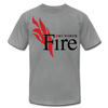 Fort Worth Fire T-Shirt (Premium Lightweight) - slate