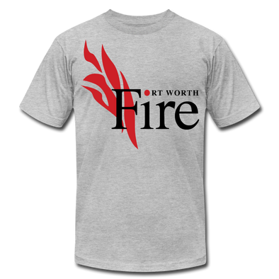 Fort Worth Fire T-Shirt (Premium Lightweight) - heather gray