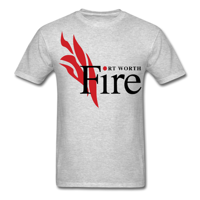 Fort Worth Fire T-Shirt - heather gray