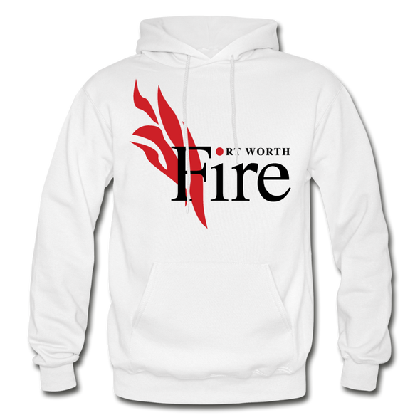 Fort Worth Fire Hoodie - white