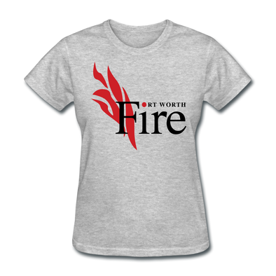 Fort Worth Fire Women's T-Shirt - heather gray