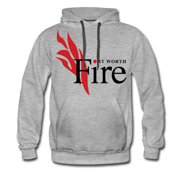 Fort Worth Fire Hoodie (Premium) - heather gray