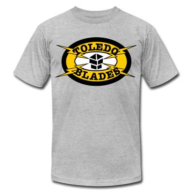 Toledo Blades T-Shirt (Premium Lightweight) - heather gray