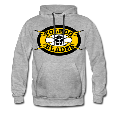 Toledo Blades Hoodie (Premium) - heather gray