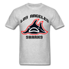 Los Angeles Sharks T-Shirt - heather gray