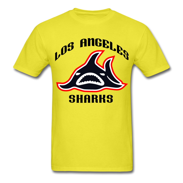 Los Angeles Sharks T-Shirt - yellow