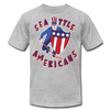 Seattle Americans T-Shirt (Premium Lightweight) - heather gray