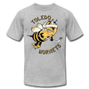 Toledo Hornets T-Shirt (Premium Lightweight) - heather gray