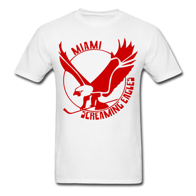 Miami Screaming Eagles T-Shirt - white