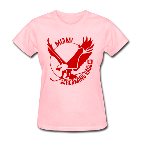 Miami Screaming Eagles Women's T-Shirt - pink