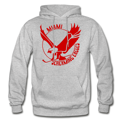 Miami Screaming Eagles Hoodie - heather gray