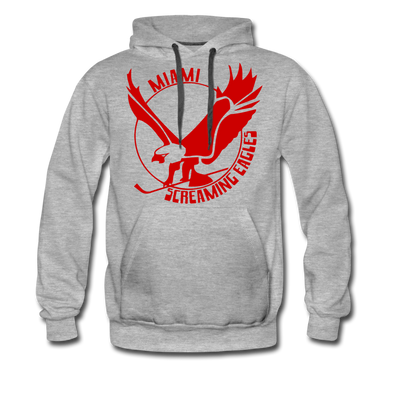 Miami Screaming Eagles Hoodie (Premium) - heather gray