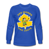 Des Moines Oak Leafs Long Sleeve T-Shirt - royal blue