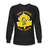 Des Moines Oak Leafs Long Sleeve T-Shirt - black