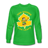 Des Moines Oak Leafs Long Sleeve T-Shirt - bright green