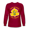 Des Moines Oak Leafs Long Sleeve T-Shirt - dark red