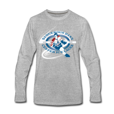 Dangerous Dan's Long Sleeve T-Shirt - heather gray