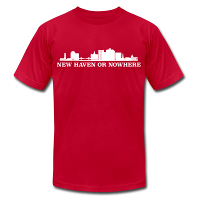 New Haven or Nowhere T-Shirt (Premium Lightweight) - red
