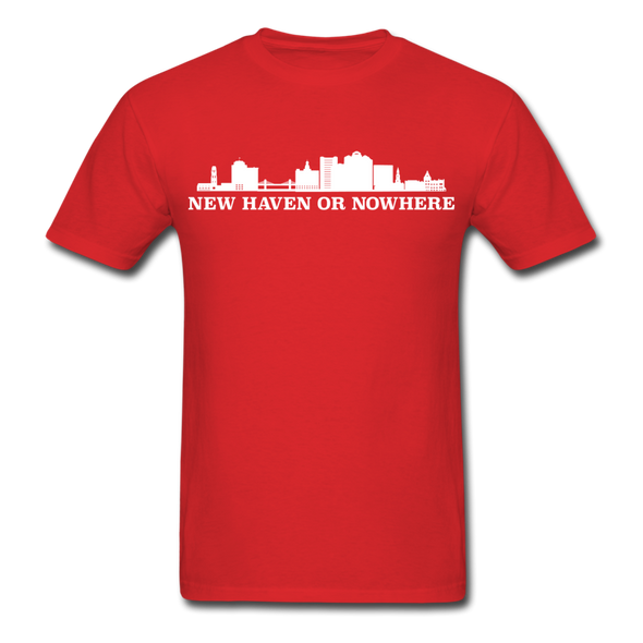 New Haven or Nowhere T-Shirt - red