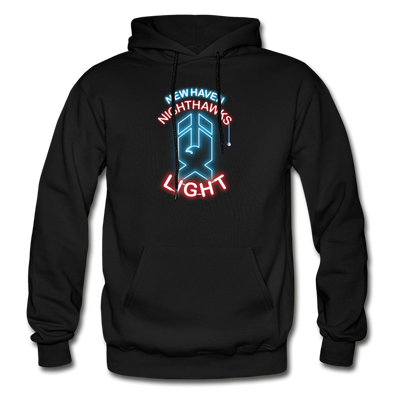 New Haven Nighthawks Light Hoodie - black