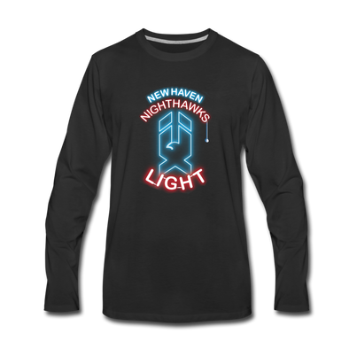 New Haven Nighthawks Light Long Sleeve T-Shirt - black