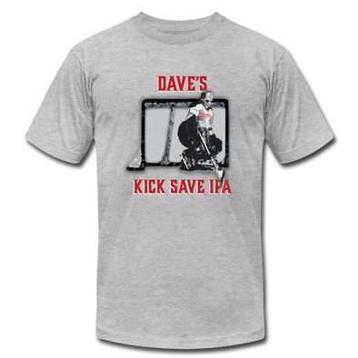Dave's Kick Save IPA T-Shirt (Premium Lightweight) - heather gray