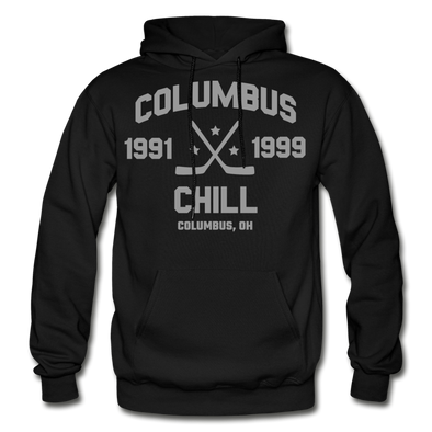 Columbus Chill Double Sided Hoodie - black