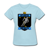 Atlanta Knights Women's T-Shirt - powder blue