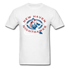 New Haven Nighthawks Dangerous Dan T-Shirt - white