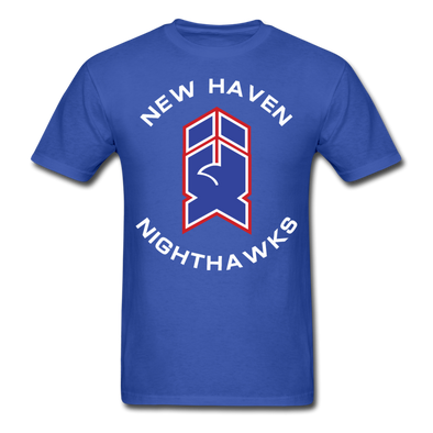New Haven Nighthawks 1980s T-Shirt - royal blue