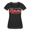 New Haven Blades Blue Women's T-Shirt - black