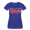 New Haven Blades Blue Women's T-Shirt - royal blue