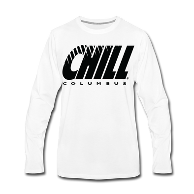 Columbus Chill Long Sleeve T-Shirt - white