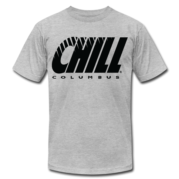 Columbus Chill T-Shirt (Premium Lightweight) - heather gray