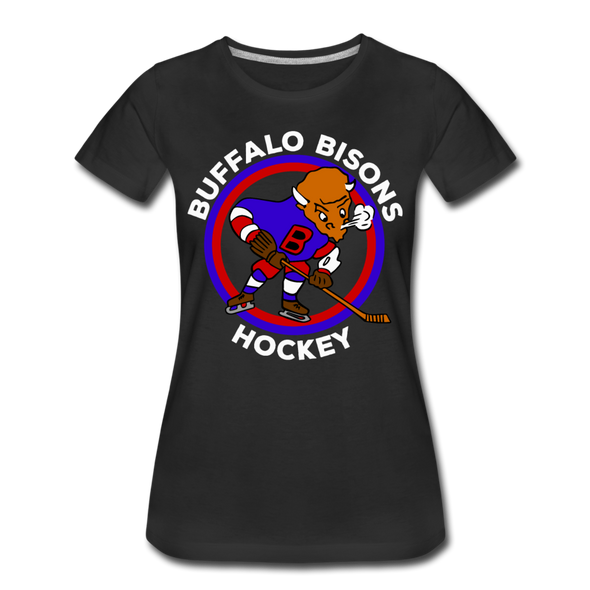 Buffalo Bisons Women's T-Shirt - black