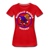Buffalo Bisons Women's T-Shirt - red