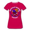Buffalo Bisons Women's T-Shirt - dark pink