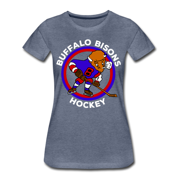 Buffalo Bisons Women's T-Shirt - heather blue