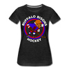 Buffalo Bisons Women's T-Shirt - charcoal gray